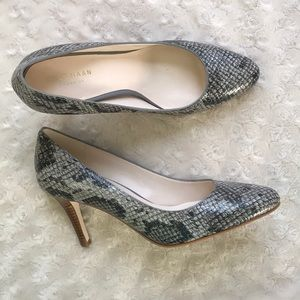 Cole Haan 6B Pumps Heels Grand OS Reptile